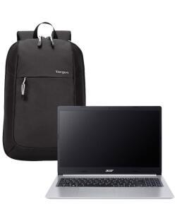 "Notebook Acer Aspire 5 + Mochila Targus Intellect Essential 15,6"" | R$ 3999"