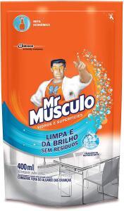 [R$ 1,40] Limpa Vidros Mr Músculo Sachet Refil 400ml