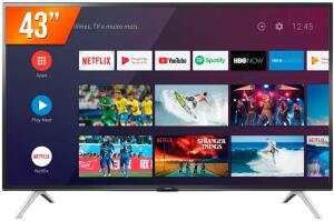 Smart TV Led 43'' Full HD Semp 43S5300 2 HDMI 1 USB Wi-Fi Android - R$1568
