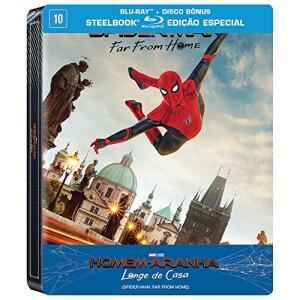 [usuários selecionados R$60] Homem Aranha Longe de Casa - Steelbook - R$66