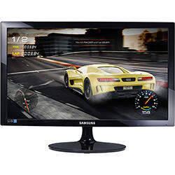 "Monitor 24"" Samsung Gamer LED 1ms 75hz LS24D332HSX/ZD | R$800"