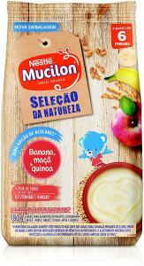 Cereal Infantil, Seleção Da Natureza, Banana Maçã e Quinoa, Mucilon, 180g
