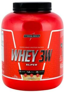 Whey 3W Super Integralmédica - Baunilha - 1,8Kg | R$ 130