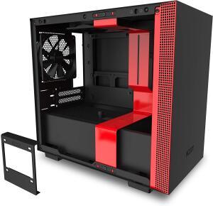 [PRIME] Gabinete H210I Matte Black/Red NZXT