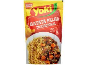 [R$ 1 de volta] Batata Palha Yoki Tradicional 140g   R$ 4,85
