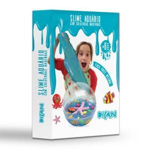 Slime Aquário - Criaturas do Mar - Dican | R$80