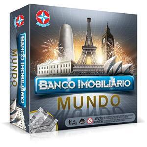 [PRIME] Banco Imobiliário Mundo, Estrela | R$75