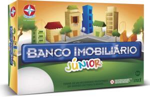 Jogo Banco Imobiliário Jr, Estrela | R$60