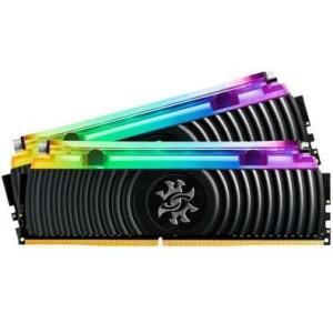Memória XPG Spectrix D80, RGB, 32GB (2x16GB), 3200MHz, DDR4, CL16 - AX4U3200316G16A-DB80