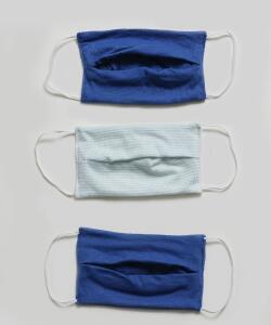 Kit 3 Máscaras Proteção Infantil Listrada   R$ 8