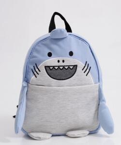 Mochila Infantil Unissex Escolar Tubarão Clio | R$ 48
