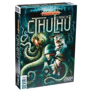 Jogo Pandemic: Reino de Cthulhu   R$230