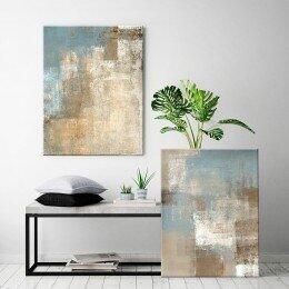 Conjunto de 2 Telas Decorativas Modern Art   R$ 200