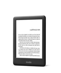 "KINDLE 10ª GERAÇÃO AMAZON TELA 6"" 4GB WI-FI - LUZ EMBUTIDA PRETO"
