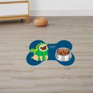 Tapete Pet Pug Dragão | R$20