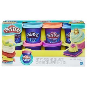 Massinha Hasbro Play-Doh Plus A1206 – 8 Potinhos | R$17