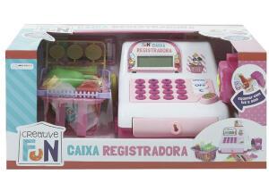 [10% de desconto com cupom pelo aplicativo] - Caixa Registradora Creative Fun Infantil Multikids [R$90]