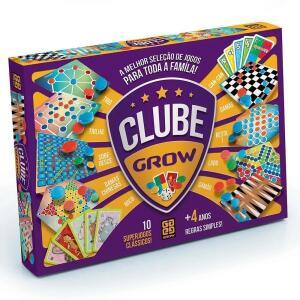 Jogo Clube - Grow - 10 jogos | R$ 57
