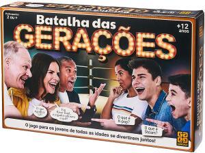 Jogo de Desafio Batalha Das Gerações, Grow | R$48