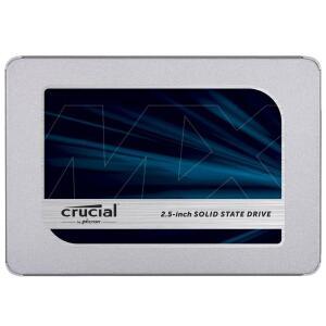 SSD Crucial MX500, 500GB, SATA, Leitura 560MB/s, Gravação 510MB/s [R$475]
