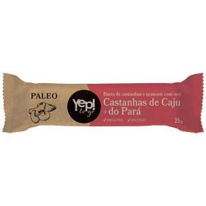 Barra de Castanhas Paleo Yep To Go Castanha de Caju e Pará 25g | R$0,89