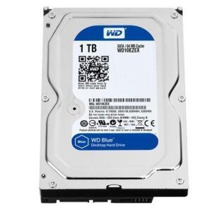 HD WD Blue, 1TB, 3.5´, SATA - WD10EZEX | R$276