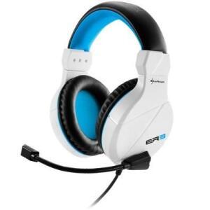 Headset Gamer Sharkoon Branco Rush ER3 | R$86