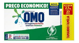 Lava-roupas Em Pó Omo Lav Perfeita Sanitizante 2,2kg | R$15