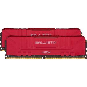Memória DDR4 Crucial Ballistix, 16GB (2x8GB) 2666MHz, Red | R$419