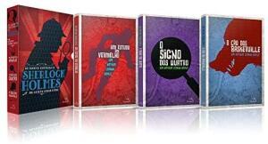 [PRIME][Pré-Venda] Box Livro As Grandes Histórias De Sherlock Holmes - 3 Volumes