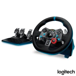 Volante Logitech Driving Force G29 Para PS4 / PS3 / PC Preto R$1799