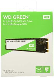 (Prime) SSD WD Green M.2 2280 - 240 GB