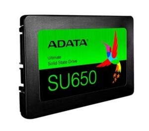 SSD Adata SU650, 480GB, SATA, Leitura 520MB/s, Gravação 450MB/s   R$ 380