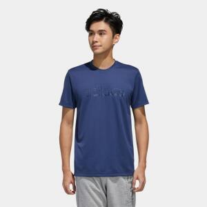 [APP R$36] Camiseta Adidas D2M Brand Masculina