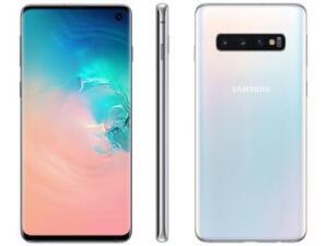 Smartphone Samsung Galaxy S10 128GB Branco 4G-8GB RAM | R$2.339