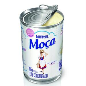 (APP/30% AME) Leite Condensado Moça Lata 395g - Nestlé | R$3,76