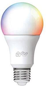 [PRIME] Lâmpada Inteligente Smart Lamp I2GO Home Wi-Fi LED 10W - Compatível com Alexa