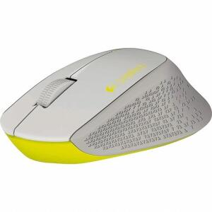 [ APP R$55 ] Mouse Sem Fio Wireless M280 Nano Cinza/Amarelo - Logitech