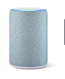 [ PRIME] Echo (3ª geração) - Smart Speaker com Alexa - Cor Azul