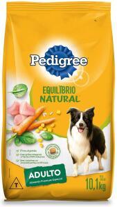 [OFERTA PRIME DAY] Ração Pedigree Equilíbrio Natural para Cães Adultos Raças Médias e Grandes 10,1 kg R$76