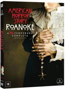 [PRIME] DVD American Horror Story Roanoke, 6ª Temporada   R$ 48
