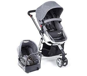 Carrinho + Bebê conforto - Travel System Mobi Safety 1st | R$ 1799