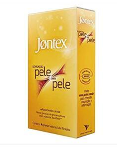 [Prime] Preservativos Jontex - Pele com Pele - 4 unidades | R$ 16