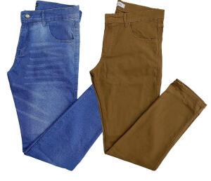[PRIME] Kit 2 Calça Jeans (cores) | R$99