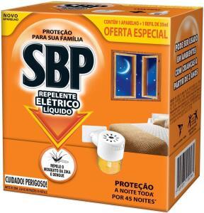 [PRIME] Repelente Elétrico Líquido - Kit Com Aparelho e Refil, SBP | R$9