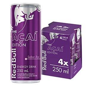 [PRIME] Energético Açaí Red Bull Energy Drink Pack - 4 Latas - 250ml   R$19