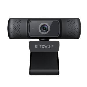 Blitzwolf® BW-CC1 1080P HD Webcam Auto Focus 1920*1080 30FPS | R$195