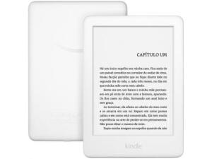 "[Kindle 10ª Geração Tela 6"" 8GB Wi-Fi Luz Embutida - Branco | R$332"
