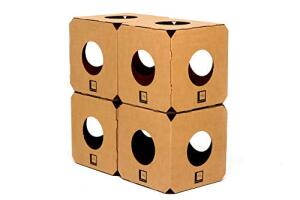 [PRIME] Labirinto 4 Cubos Gatomoderno para Gatos | R$79