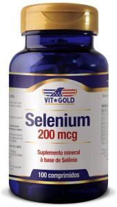 [PRIME] Selênio 200mcg Vitgold 100 comprimidos | R$41